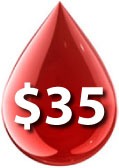 $35 AMBA Blood Screening