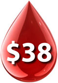 $38 AMBA Blood Screening